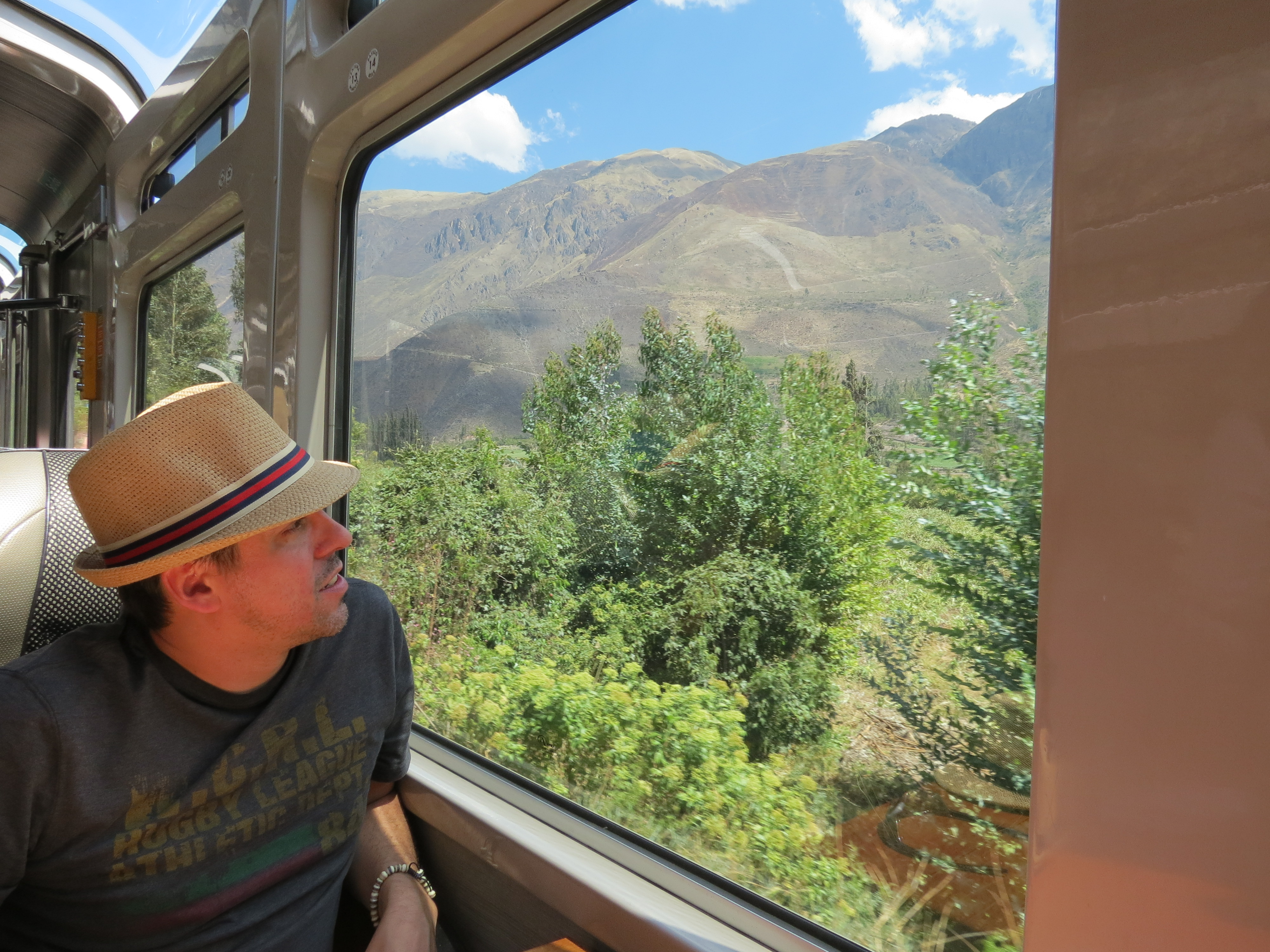 Day 3 - Train Ride to Aguas Calientes
